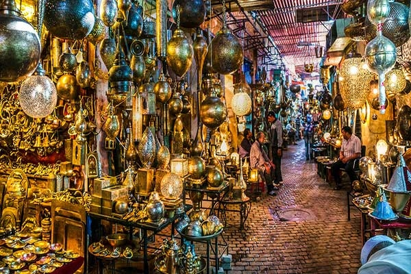 Souks City Tour van Marrakech